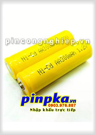 Pin Sạc Công Nghiệp-Pin Cell 1,2v NiCD AA 300mAh